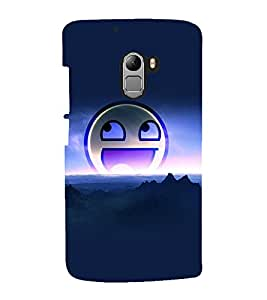 printtech Smiley Meme Back Case Cover for  Lenovo K4 Note A7010a48, A7010