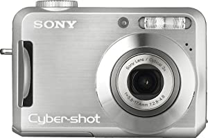 Sony Cybershot DSC-S700 7.2MP Digital Camera with 3x Optical Zoom