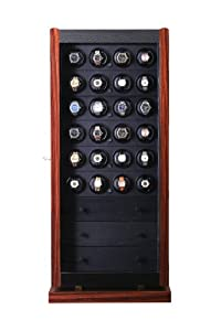 Avanti 36 Watchwinder in Brazilian Rosewood with Programmable Movement by Orbita