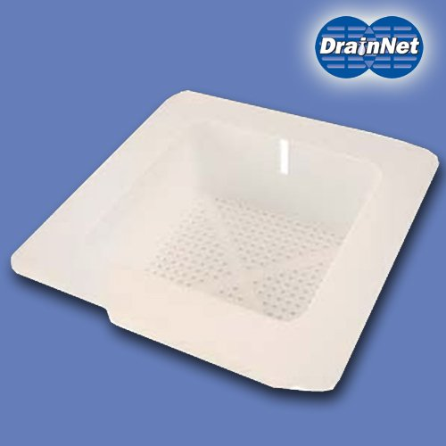 "12"" Floor Sink Basket with Flange"
