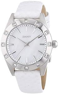 DKNY Damen-Armbanduhr Analog Quarz Leder NY8790