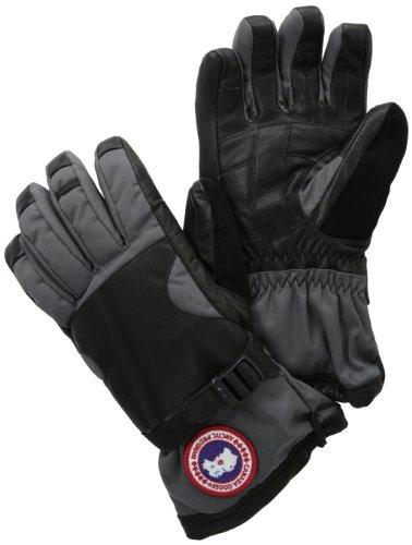 Canada Goose Men S Utility Gloves Mid Grey Black Medium
