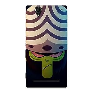Ajay Enterprises Cute Mojo Back Case Cover for Sony Xperia T2