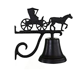 Montague Metal Products Cast Bell with Black Country Doctor