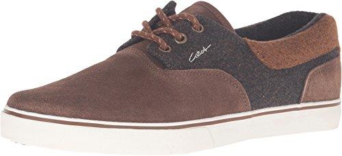 C1RCA Men's Valeo SE Skateboarding Shoe, Tobacco/Brown, 10 M US