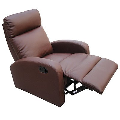 LPD Furniture Dallas Recliner Chair, In Brown