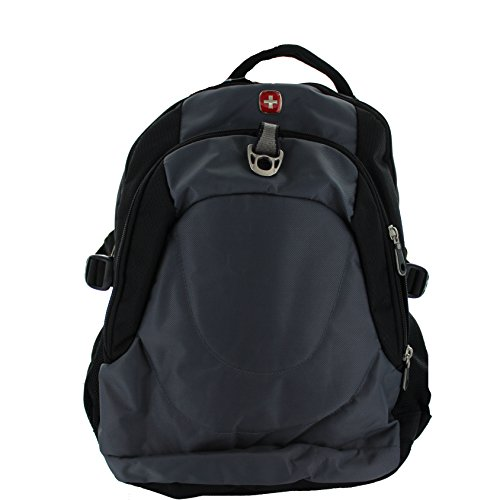 Swiss Gear Bishorn Laptop Notebook Backpack Sa1153 (Grey Silver)