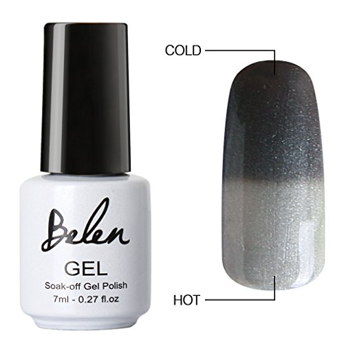 Belen Chameleon Temperature Colour Changing Gel Polish Soak Off Nail Art Varnish 5008 (Temperature Color Nail Polish compare prices)