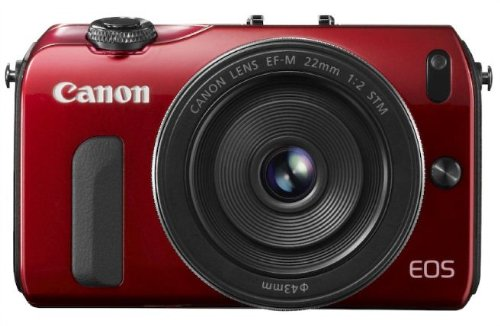 Canon EOS M 18.0 MP Compact Systems Camera with 3.0-Inch LCD and EF-M 22mm STM Lens (Red) review