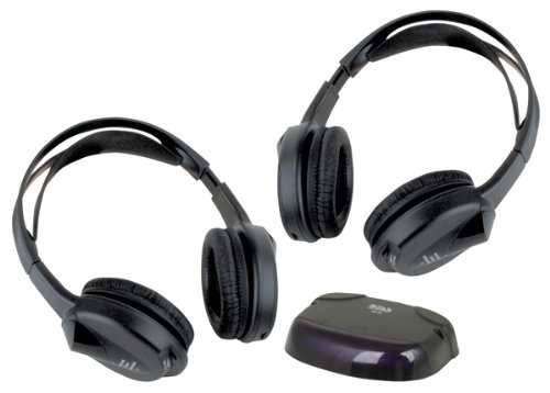 Boss Audio Hsir 2 Infrared Cordless Headphones With Infrared Transmitter