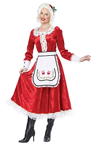 California Costumes Women's Classic Mrs. Claus Adult