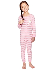 Hello Kitty Pure Cotton Striped Onesie