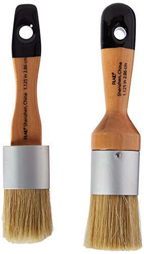 FolkArt Home Decor Chalk and Wax Brushes, 34909 (Home Decor Chalk Paint compare prices)