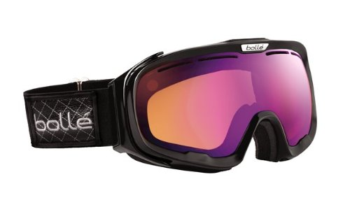 Bolle Fathom Goggles, Shiny Black Patch, Polarized Aurora Lens