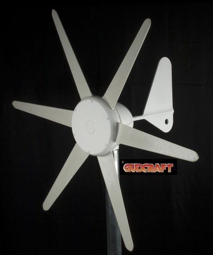 Gudcraft 300W 12V Wind Turbine Wind Generator With Integrated Charge Controller
