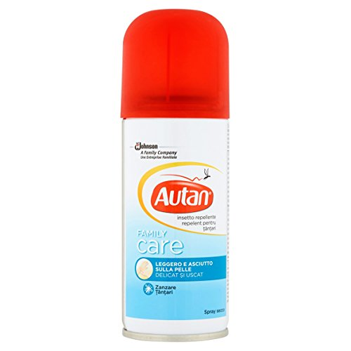 Autan Family Care Spray Secco Repellente - 100 ml