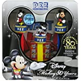 PEZ COLLECTIBLES--Mickey 80 Years Collection with Vintage Mickey Poster by PEZ Candy