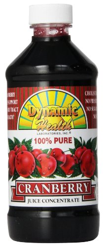 Dynamic Health, Concentrate Juice, Cranberry, 8-Ounce