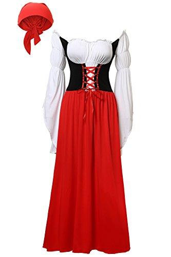 DJT W (Womens Fraulein Oktoberfest Costumes)
