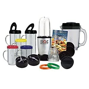 Magic Bullet Deluxe 25 Pc Set Blender Mixer by AS SEEN ON TV