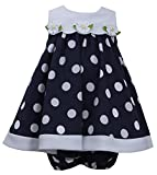 Bonnie Jean Baby-Girls Dress Dot Daisy