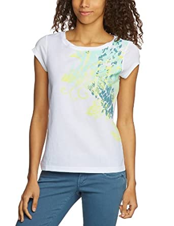 MEXX METROPOLITAN Damen T-Shirt 6BCTT010, Gr. 38 (M), Grün (330)
