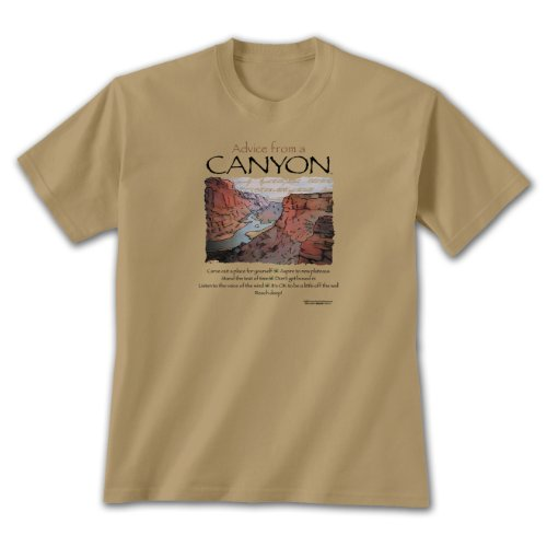 Advice From A Canyon ~ Sandy T-Shirt