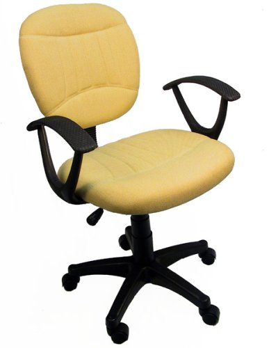 Charcoal Grey Fabric Office Chair W Arms Gas Lift Great Student Or Com