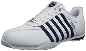 K-Swiss ARVEE 1.5 02453-183-M Herren Sneaker, Weiß (White/Mood Indigo/Gull Gray), EU 45 (UK 10.5)