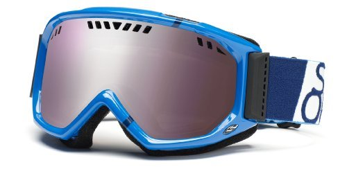Smith Herren Skibrille Scope Graphic, royal blue team