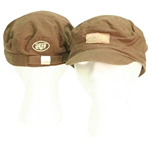 "New York Jets ""Castro"" Slouch Fit Adjustable Baseball Hat - Brown"