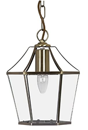 Dulverton Pendant Antique Brass Finish