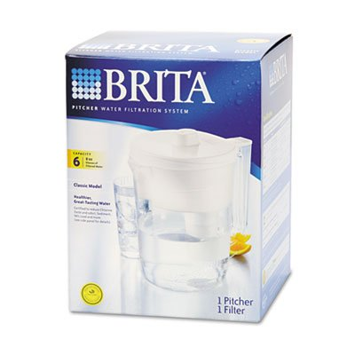 Brita Classic Pour-Through Pitcher, 48-oz. Capacity (Brita 48 Oz compare prices)