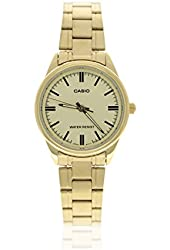 Casio Women's LTP-V005G-9A GOLD Stainless Steel Analog Watch