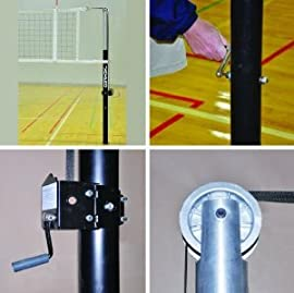 Jaypro PVB-7000 Powerlite International Volleyball Net System (Call 1-800-234-2775 to order)