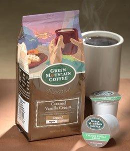 Green Mountain Caramel Vanilla Cream, Ground Coffee, 12Oz. Bag (Pack Of 3)