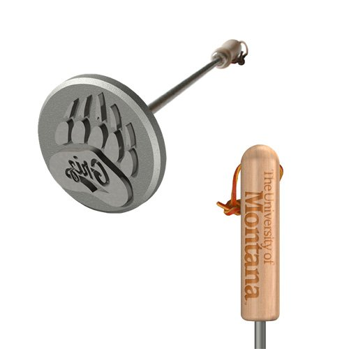 University Of Montana Grizzlies BBQ Branding Iron