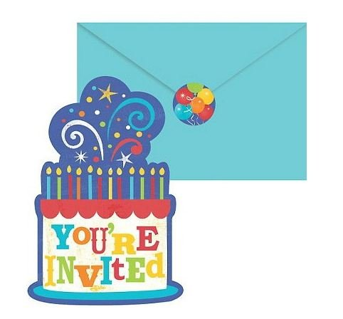 Birthday Fever Invitations