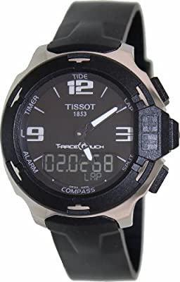 Tissot T-Race Analog Digital Black Rubber Mens Watch T0814201705701