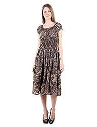 Selfiwear SW-548 Tiger Print Dress