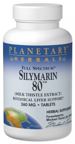 Planetary Herbals, Full Spectrum, Milk Thistle