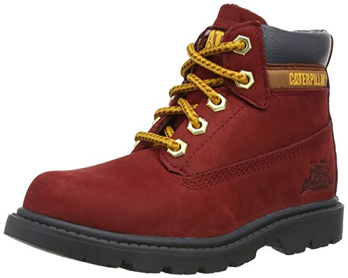 Caterpillar boys Caterpillar Boys Colorado Leather Boots Red Red Leather UK Kids Size 10 (Caterpillar Boots For Kids compare prices)