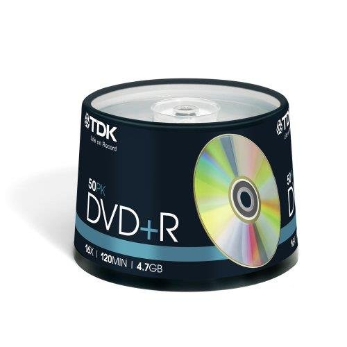 TDK DVD+R in der 50er Spindel