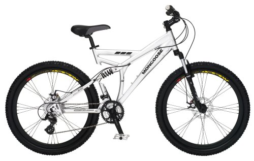 Mongoose Status Dual-Suspension Mountain Bike (26-Inch Wheels)