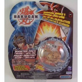 Bakugan Battle Brawlers Booster Pack Series 2 LOOSE Brown TerrorClaw - 1