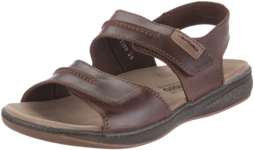 Mephisto SAGUN SCRATCH 3451 P5102859, Sandali uomo, Marrone (Braun (DARK BROWN SCRATCH 3451)), 42