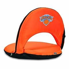 NBA New York Knicks Oniva Portable Reclining Seat, Orange by Picnic Time