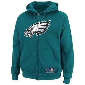 NFL Mens Philadelphia Eagles Classic Heavyweight III Marine Green Long Sleeve Full... by VF LSG
