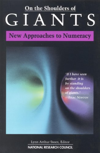 On the Shoulders of Giants: New Approaches to Numeracy
