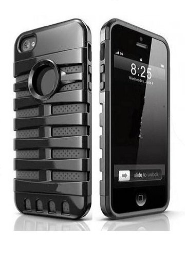 Black Retro Elvis Style Mic Microphone Apple Iphone 5 Cover Case
